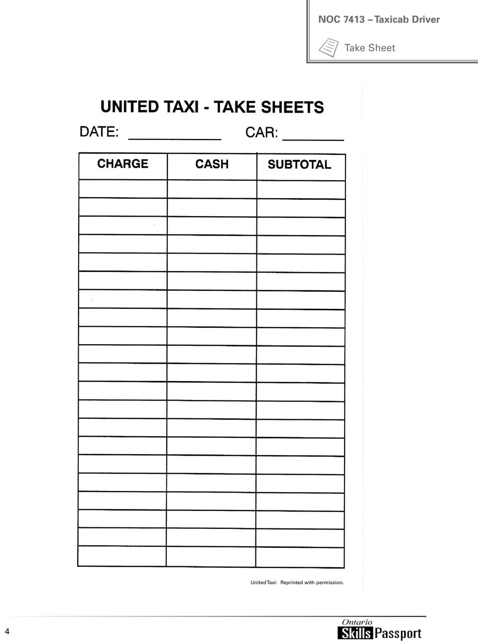 United Taxi:
