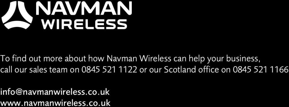 521 1122 or our Scotland office on 0845 521 1166