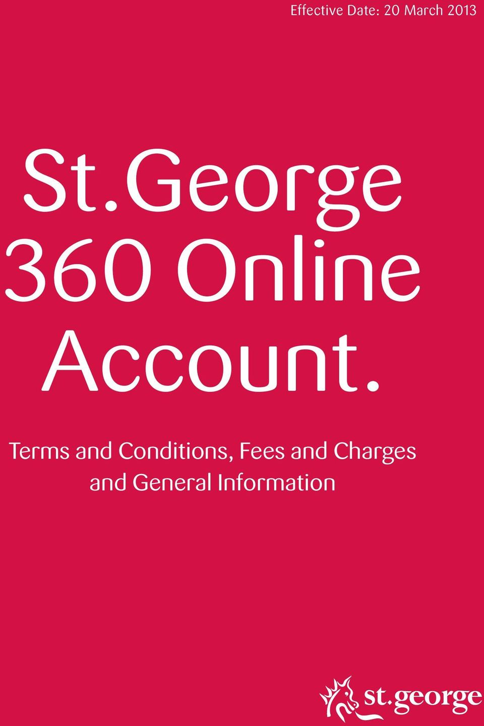 George 360 Online Account.