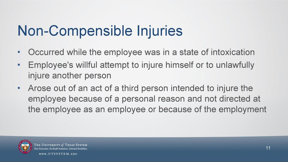 Arose out of an act of a third person intended to injure the employee because of a