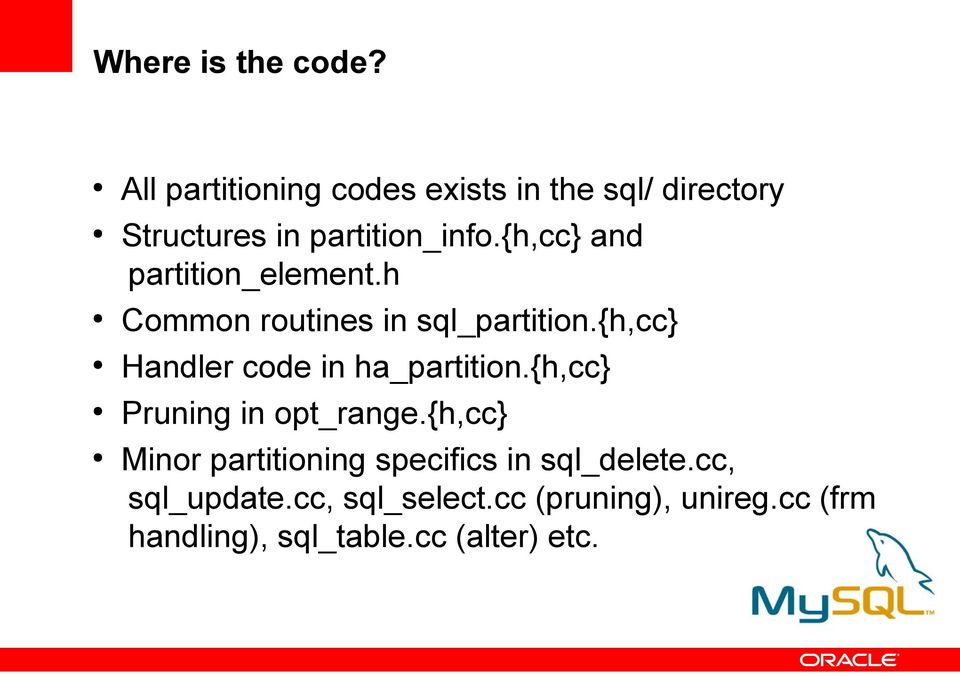 {h,cc} and partition_element.h Common routines in sql_partition.