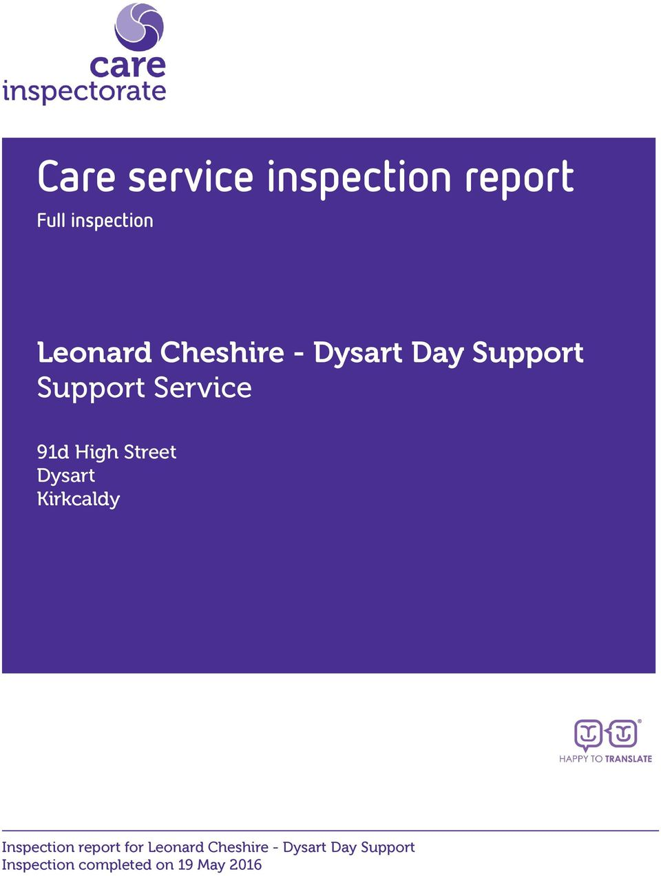 Support Support Service 91d High Street