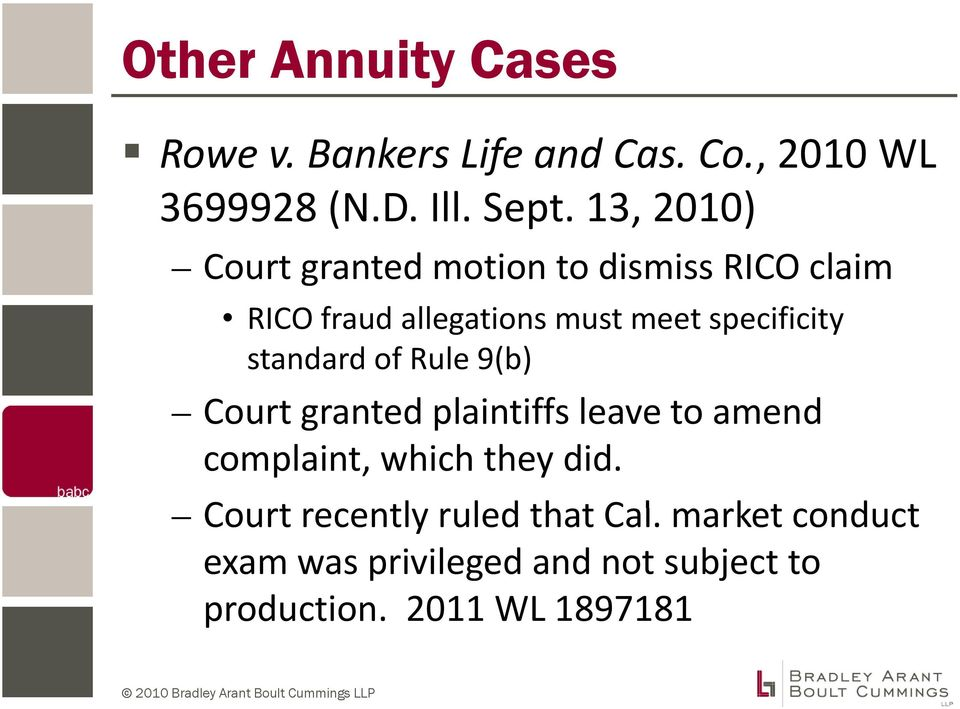 standard of Rule 9(b) Court granted plaintiffs li iffleave to amend complaint, which they did.