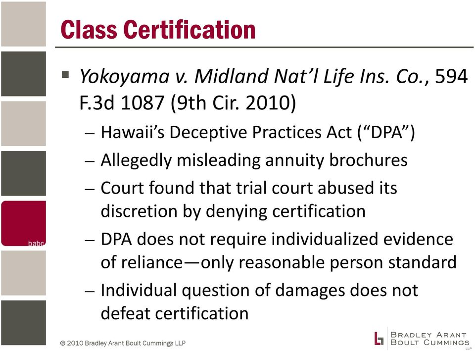 that trial court abused its discretion by denying certification DPA does not require