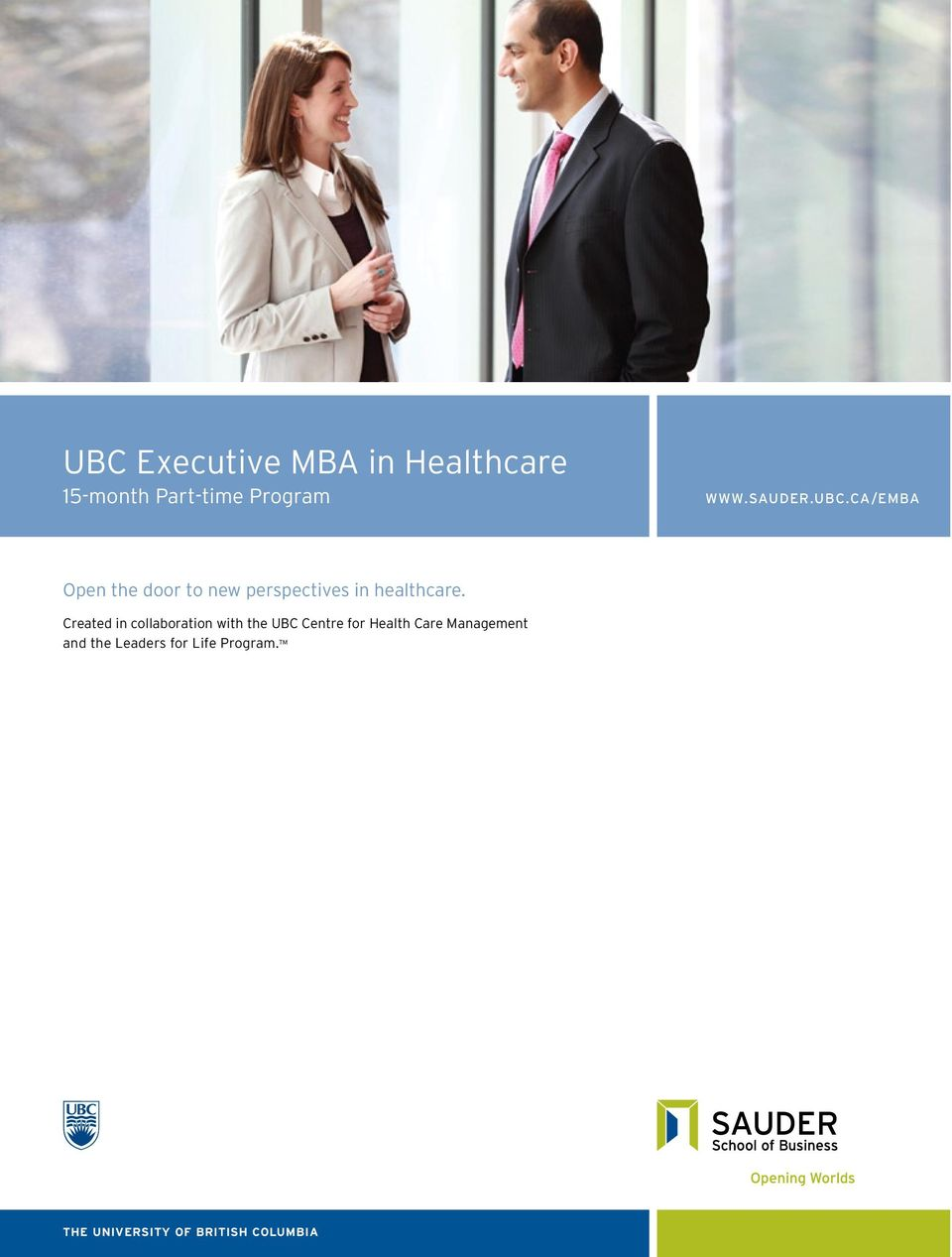 Created in collaboration with the UBC Centre for Health Care