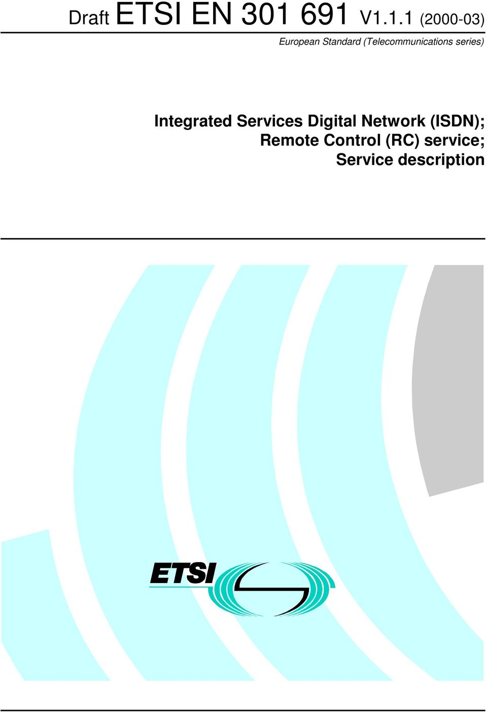 (Telecommunications series) Integrated