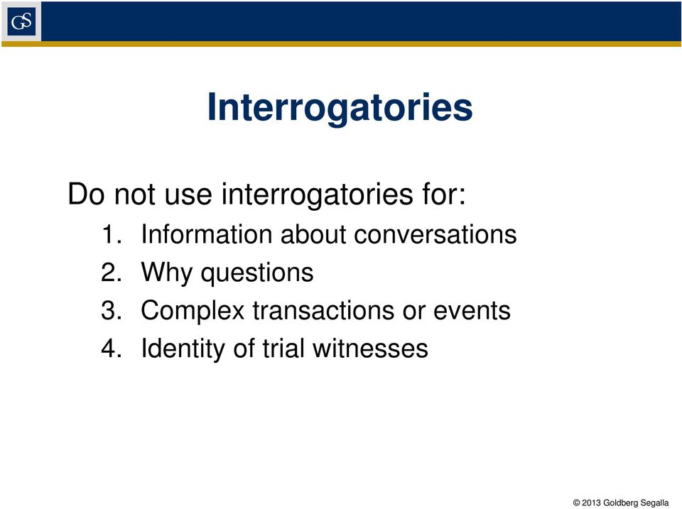 Information about conversations 2.