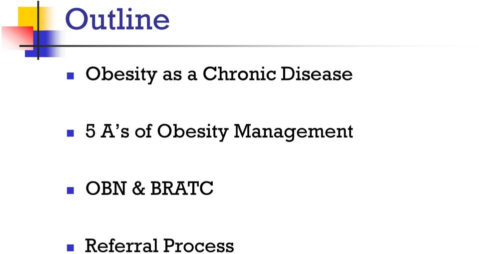 of Obesity Management