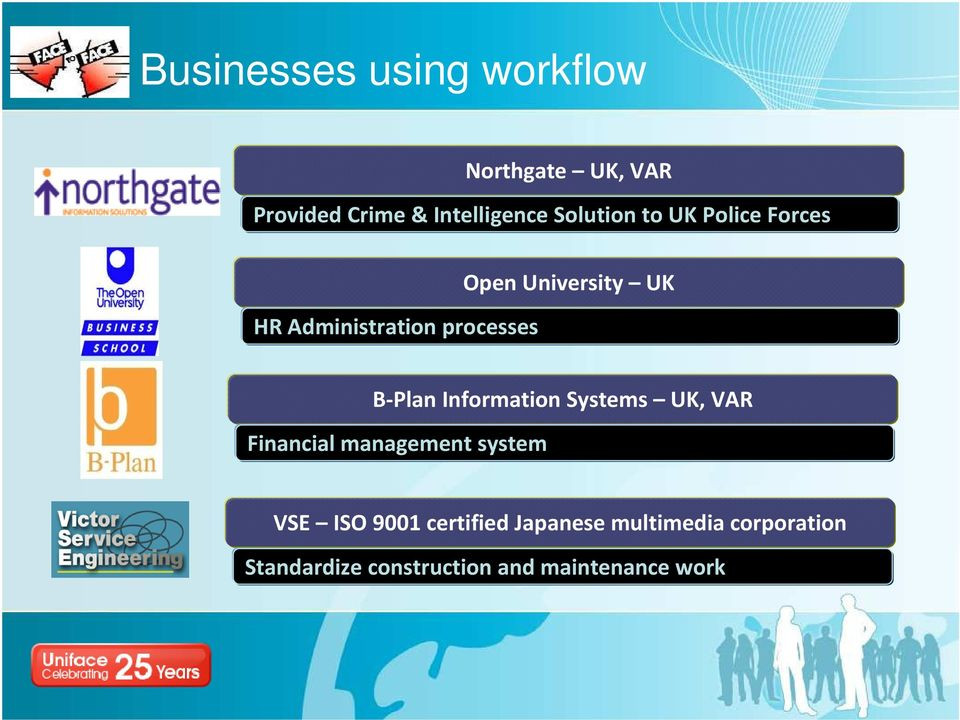 B-Plan Information Systems UK, VAR Financial management system VSE ISO 9001