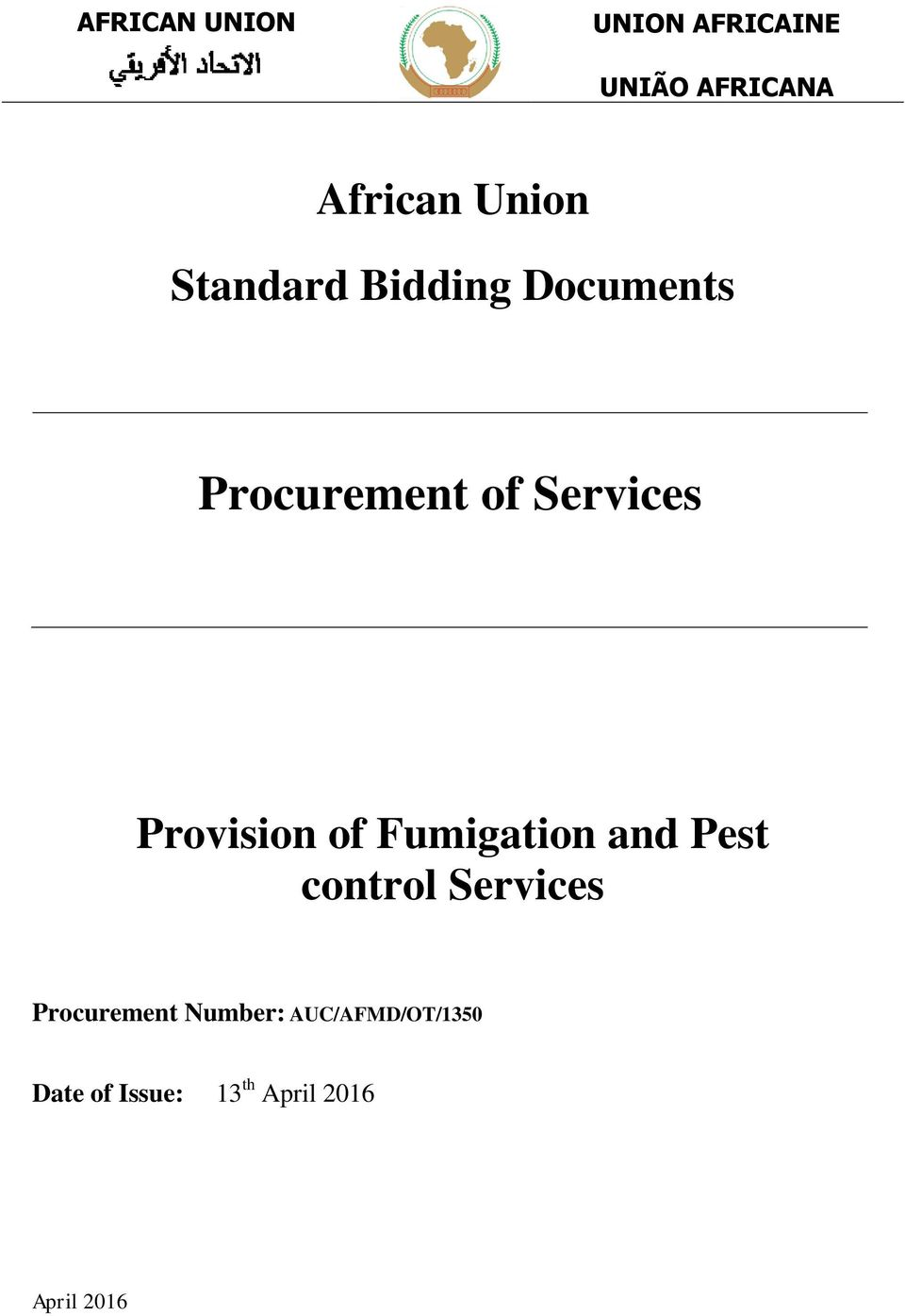 Services Provision of Fumigation and Pest control