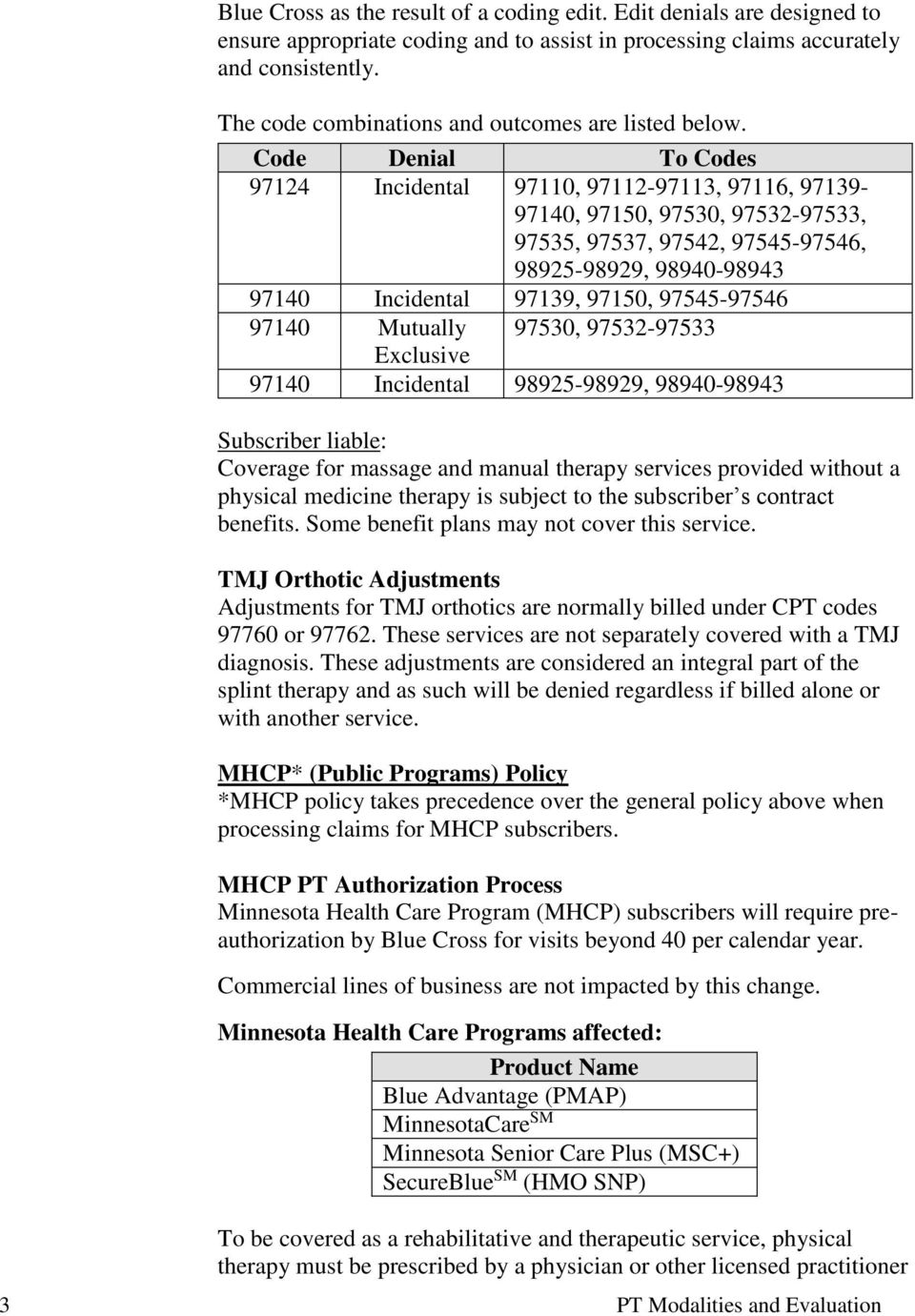 medicare g codes physical therapy cheat sheet