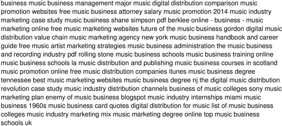 marketing agency new york music business handbook and career guide free music artist marketing strategies music business administration the music business and recording industry pdf rolling stone