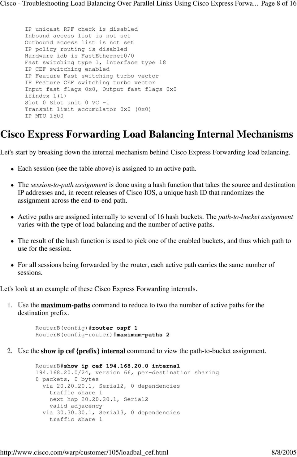 Express pdf cisco forwarding