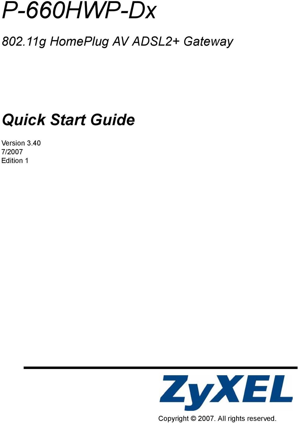 Quick Start Guide Version 3.