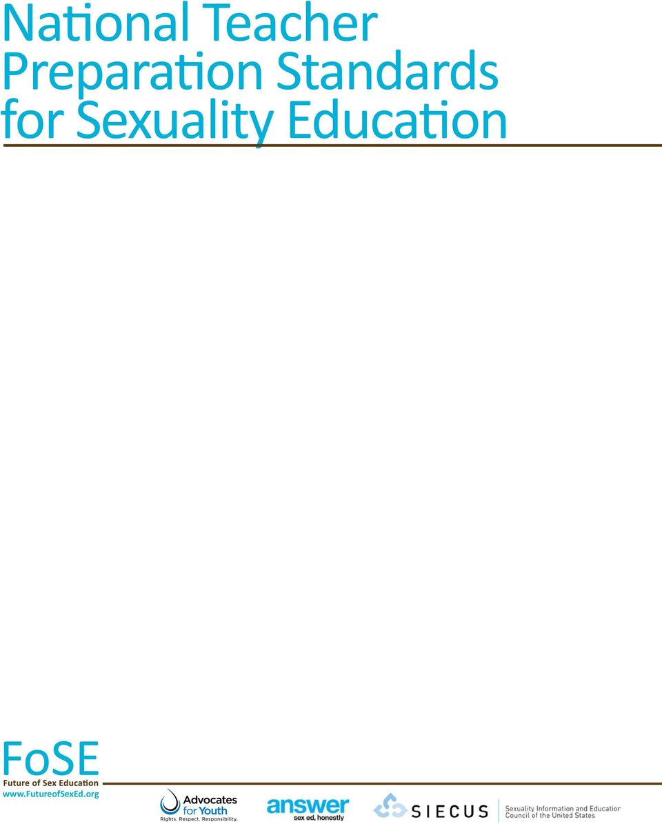 Sexuality Education www.