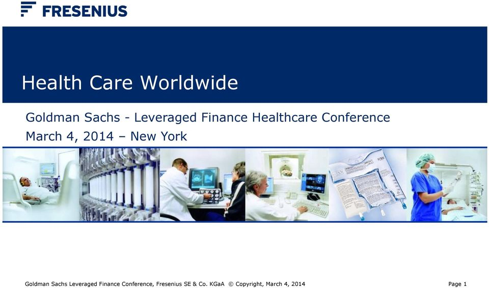 York Goldman Sachs Leveraged Finance Conference,
