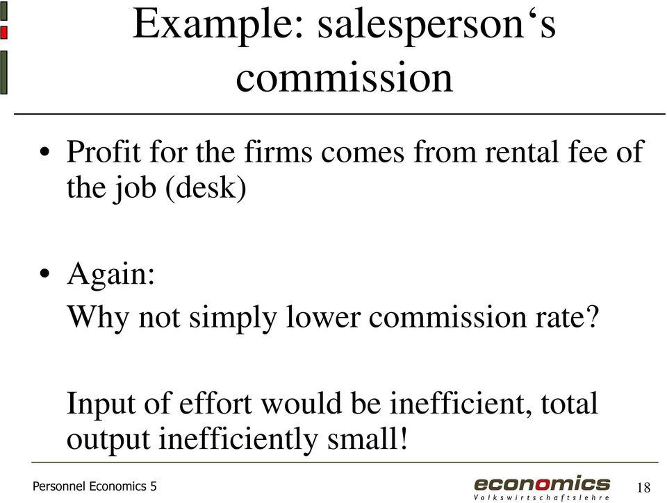 simply lower commission rate?