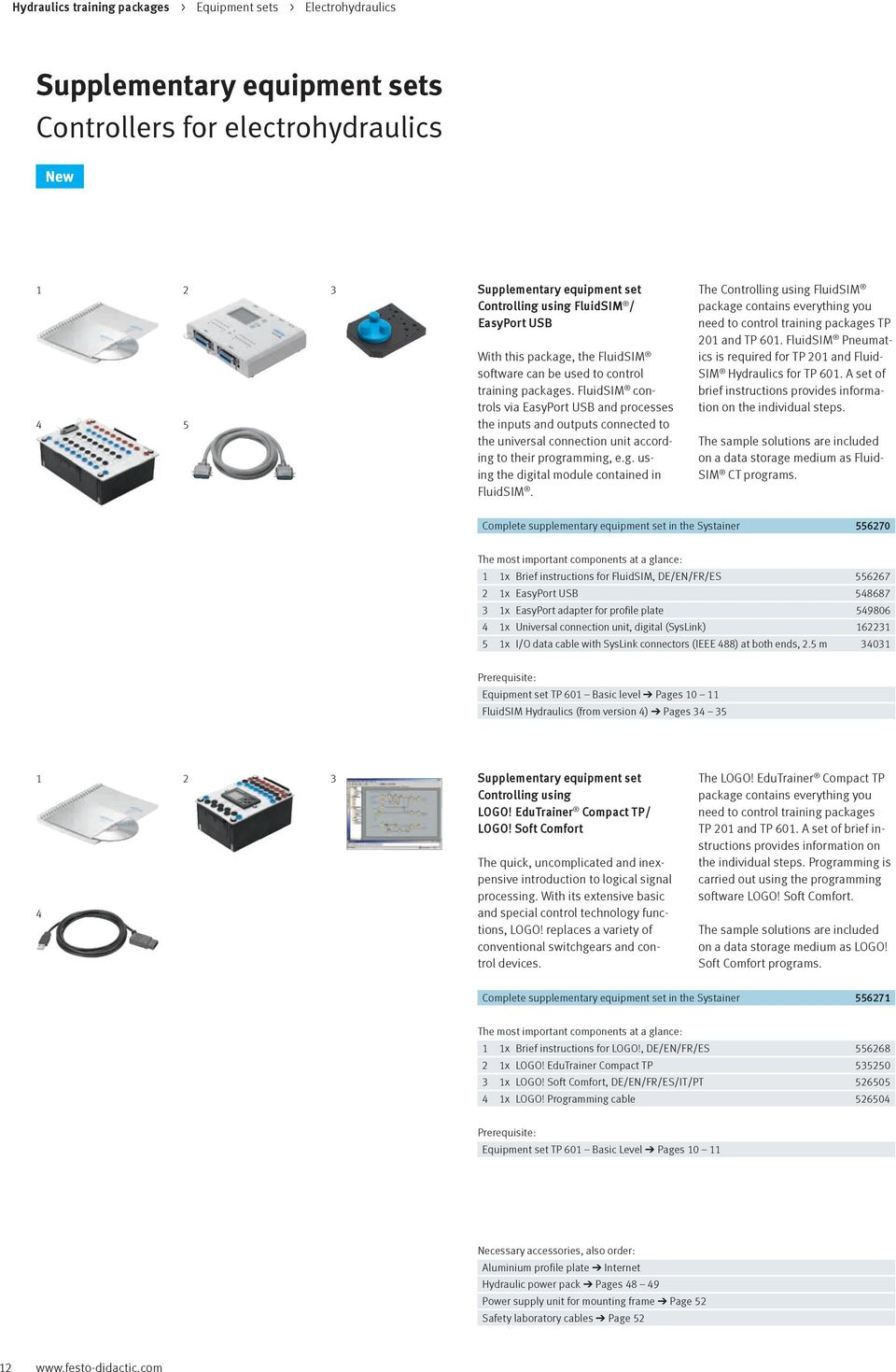 Hydraulics vocational and further training with festo didactic pdf fluidsim controls via easyport usb and processes the inputs and outputs connected to the universal connection buycottarizona Image collections