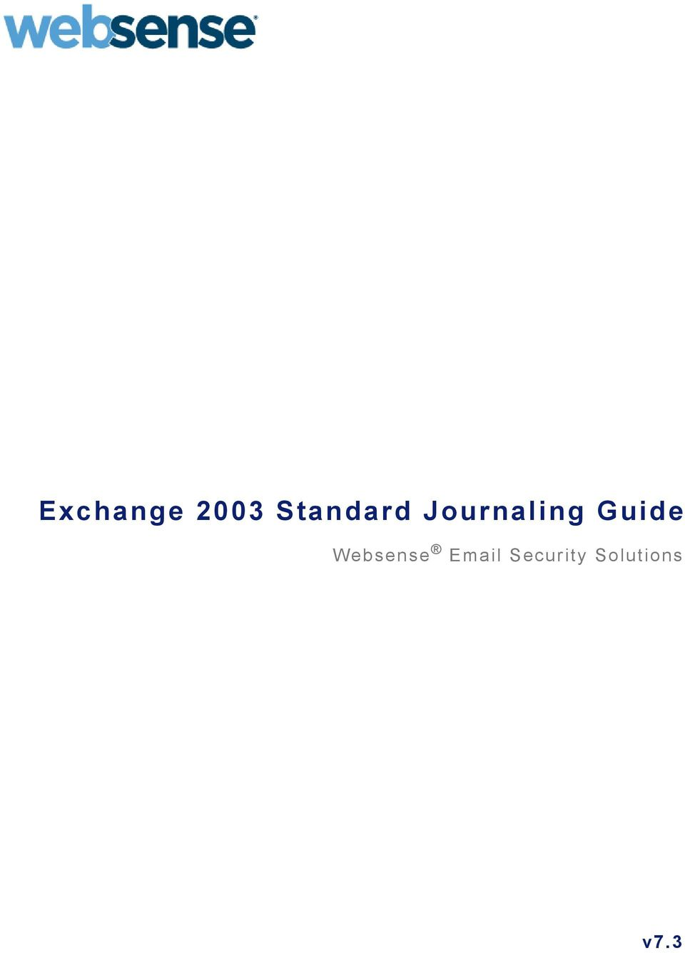 Guide Websense