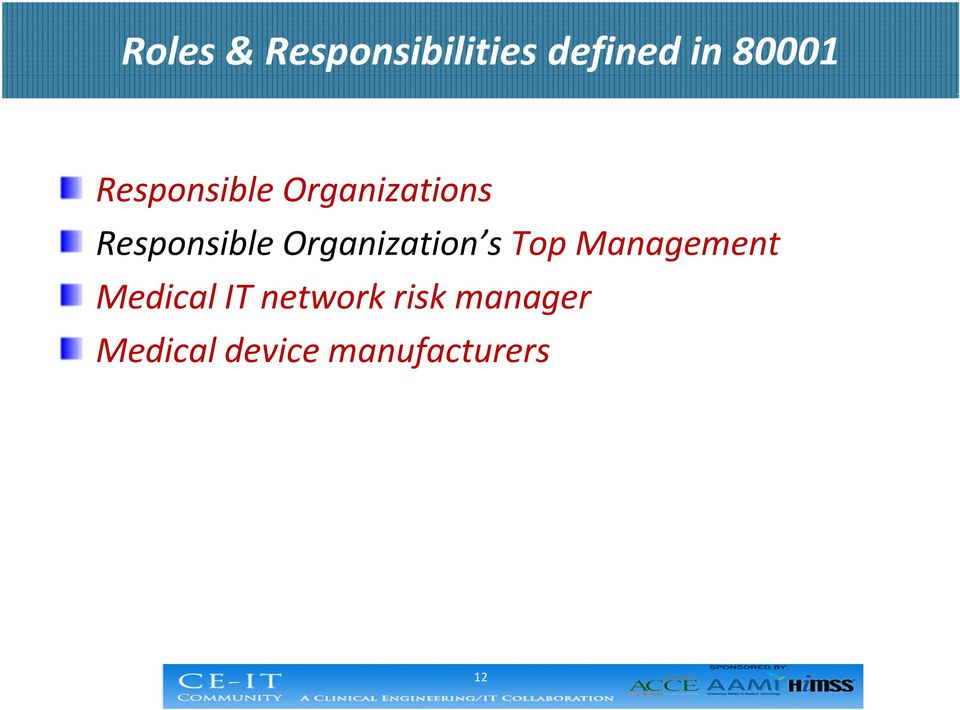 Organization s Top Management Medical IT
