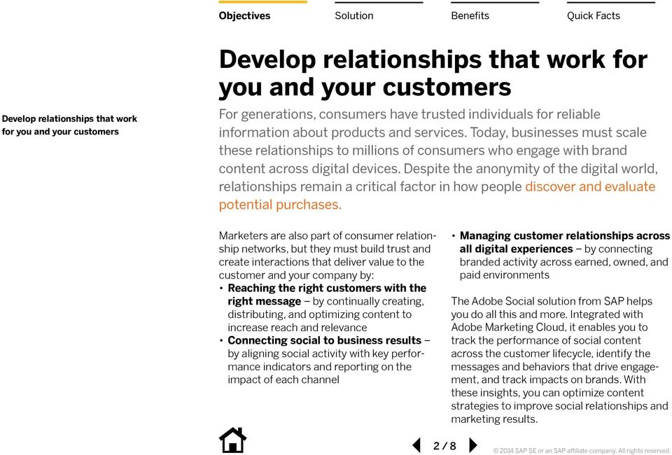 Despite the anonymity of the digital world, relationships remain a critical factor in how people discover and evaluate potential purchases.