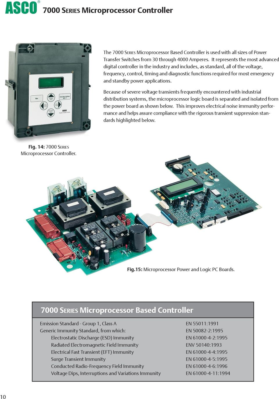 Asco 7000 Series Power Transfer Switches Pdf 4 Circuit Switch Standby Applications
