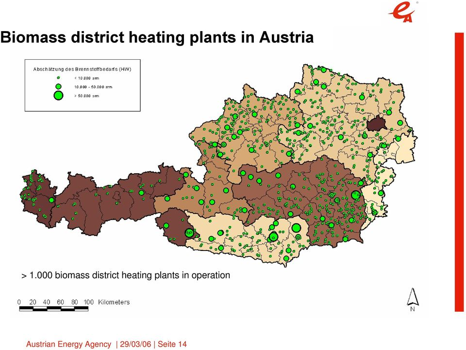 1.000 biomass district heating plants in