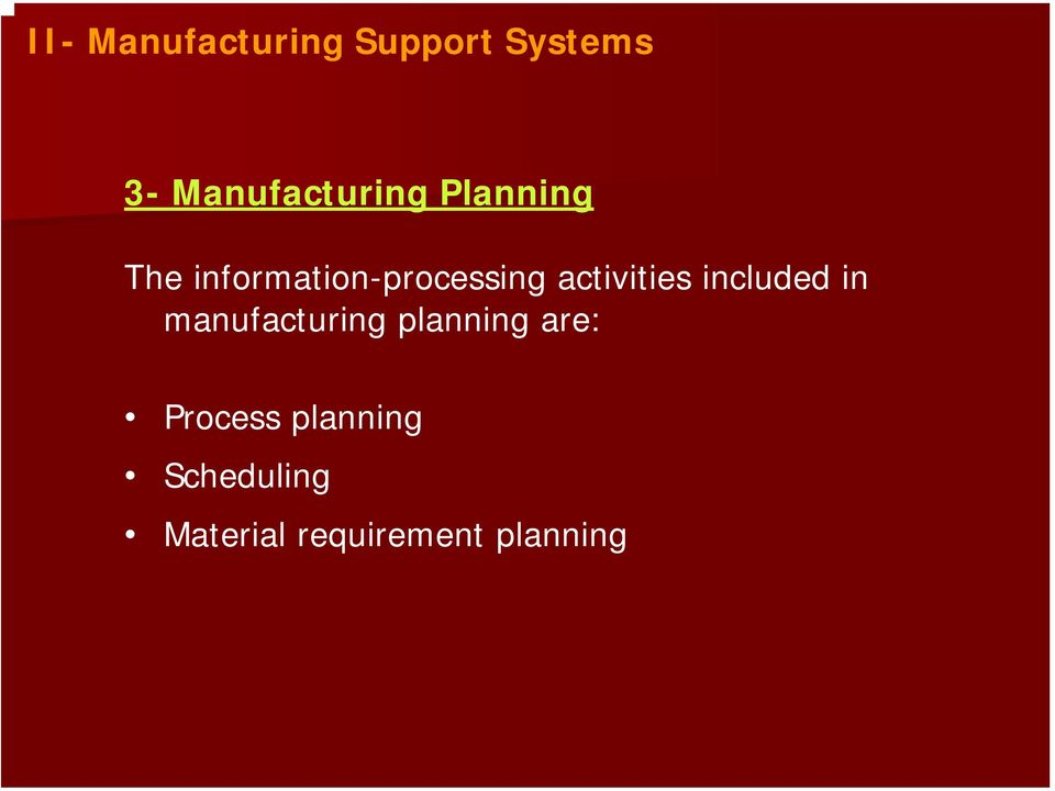 information-processing activities included in