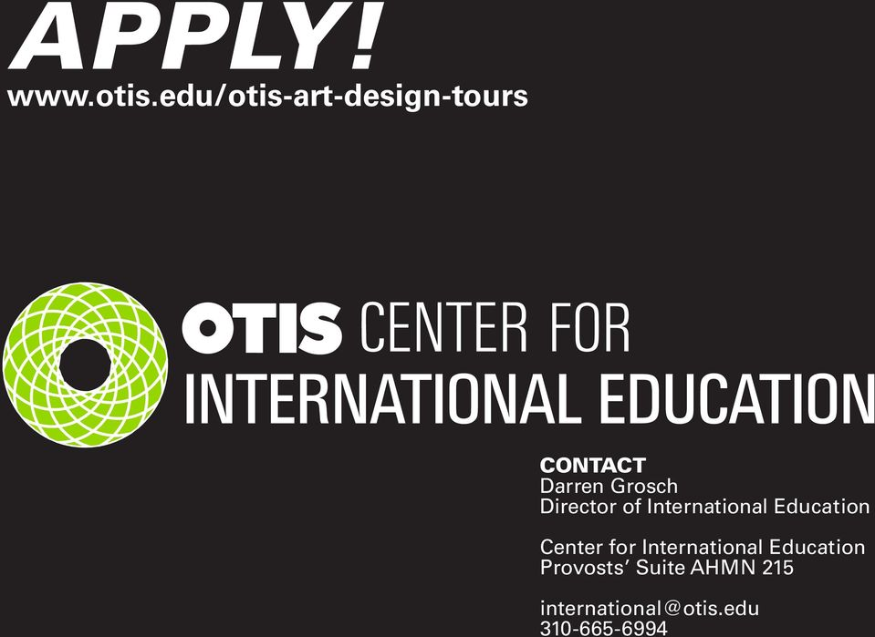 Director of International Education Center for