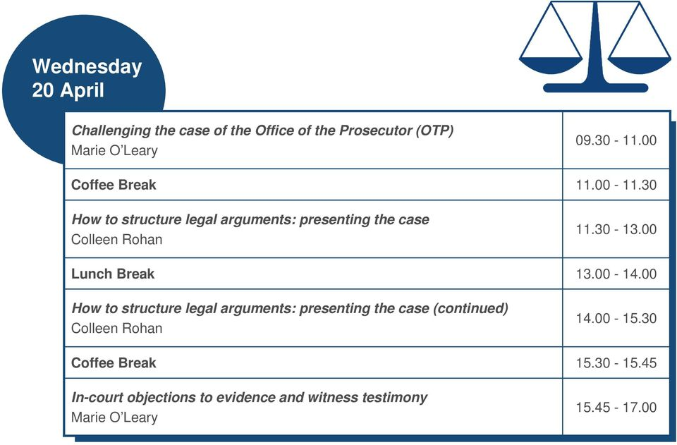 case How to structure legal arguments: presenting the case