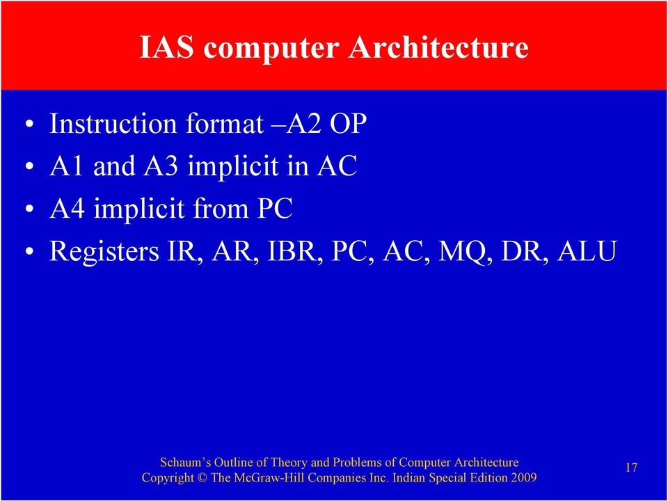 implicit in AC A4 implicit from PC