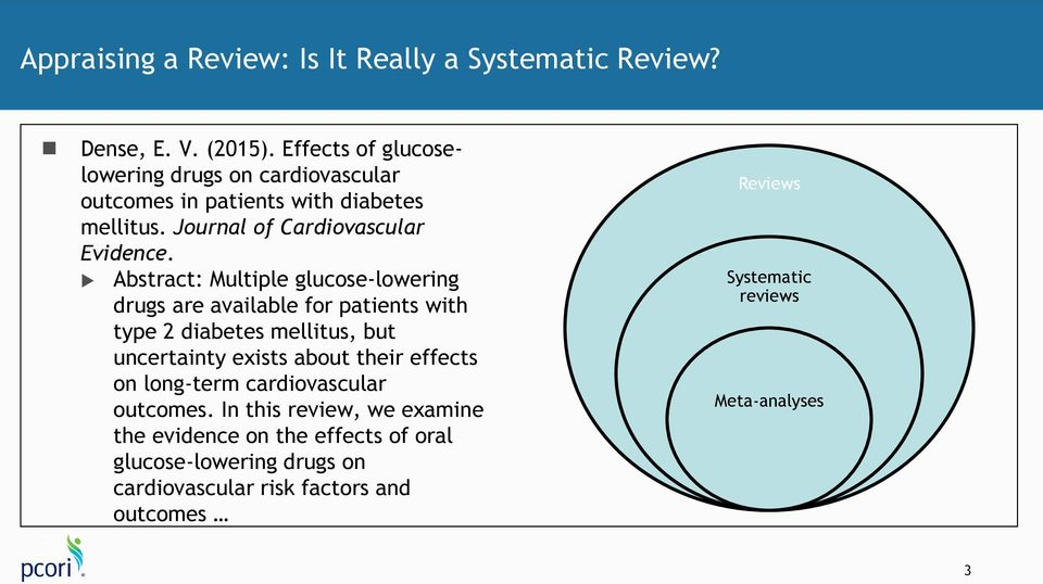 Abstract: Multiple glucose-lowering drugs are available for patients with type 2 diabetes mellitus, but uncertainty exists about their