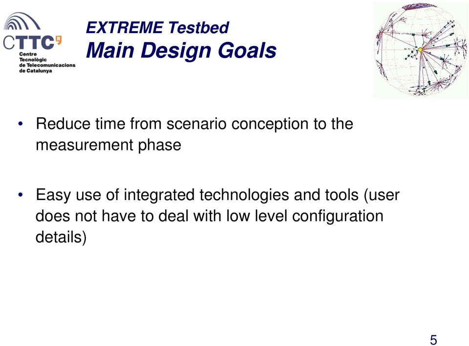 use of integrated technologies and tools (user does