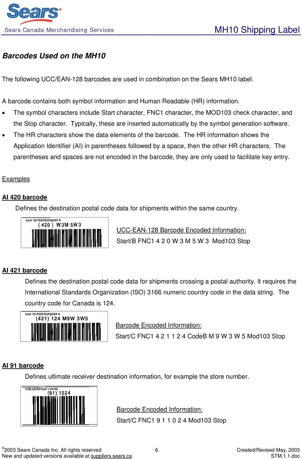 The HR characters show the data elements of the barcode. The HR information shows the Application Identifier (AI) in parentheses followed by a space, then the other HR characters.
