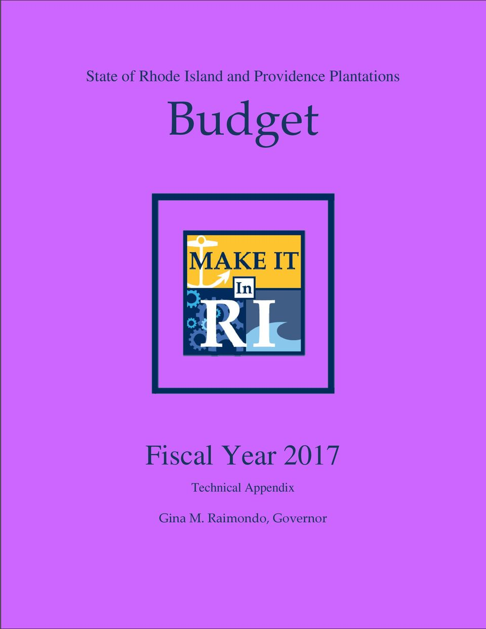 Fiscal Year 2017 Technical