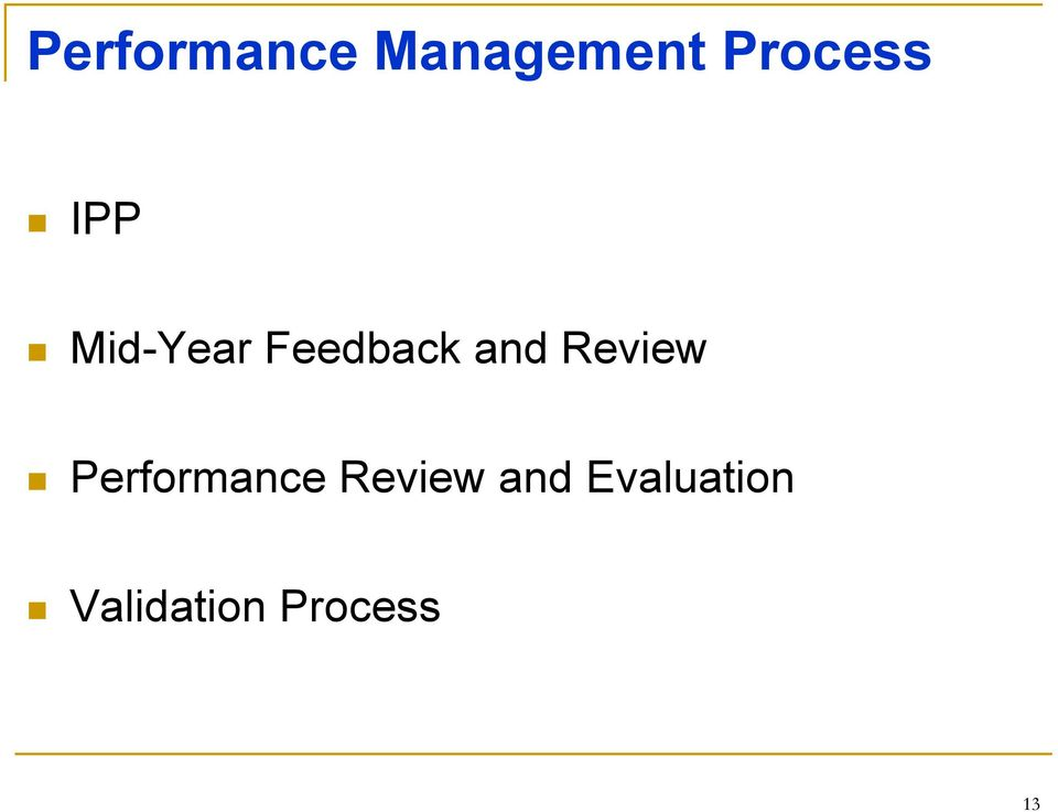 and Review Performance Review