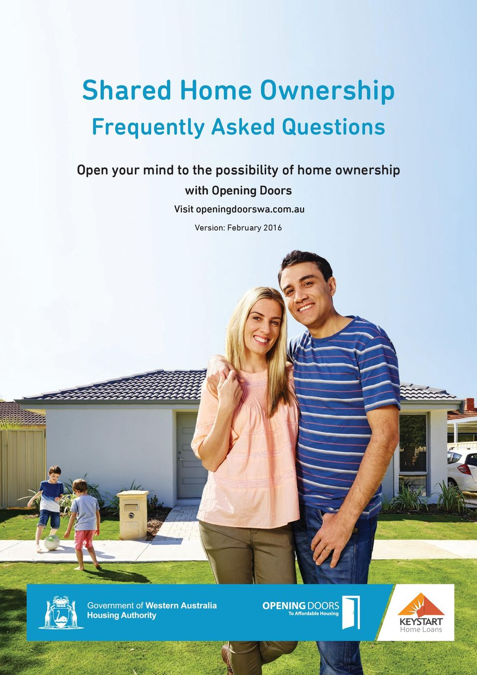 of home ownership with Opening Doors Visit