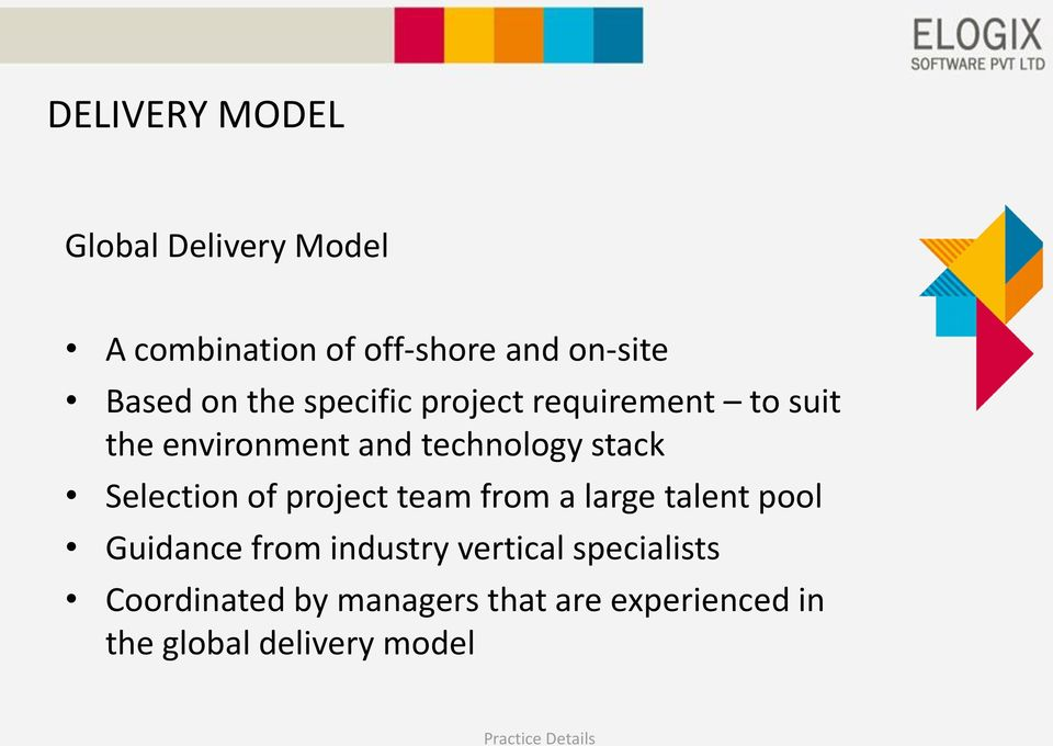 Selection of project team from a large talent pool Guidance from industry vertical
