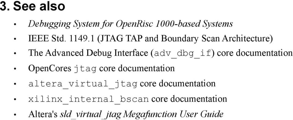 core documentation OpenCores jtag core documentation altera_virtual_jtag core