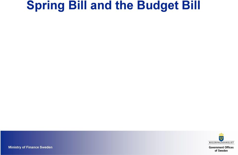 reforms Budget Bill presents the full government budget