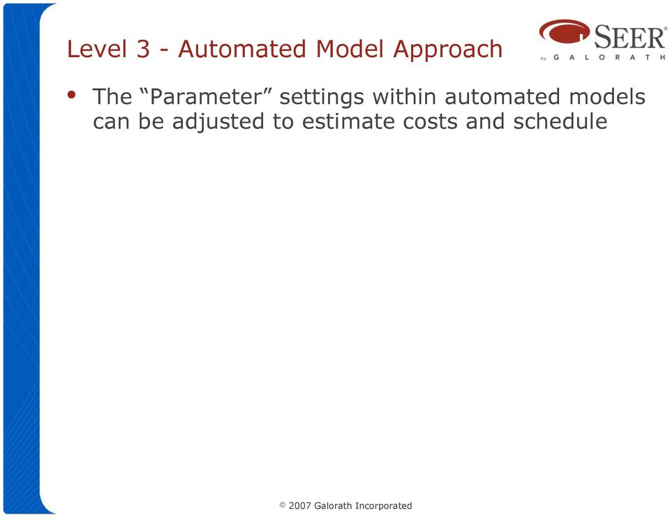 within automated models can be