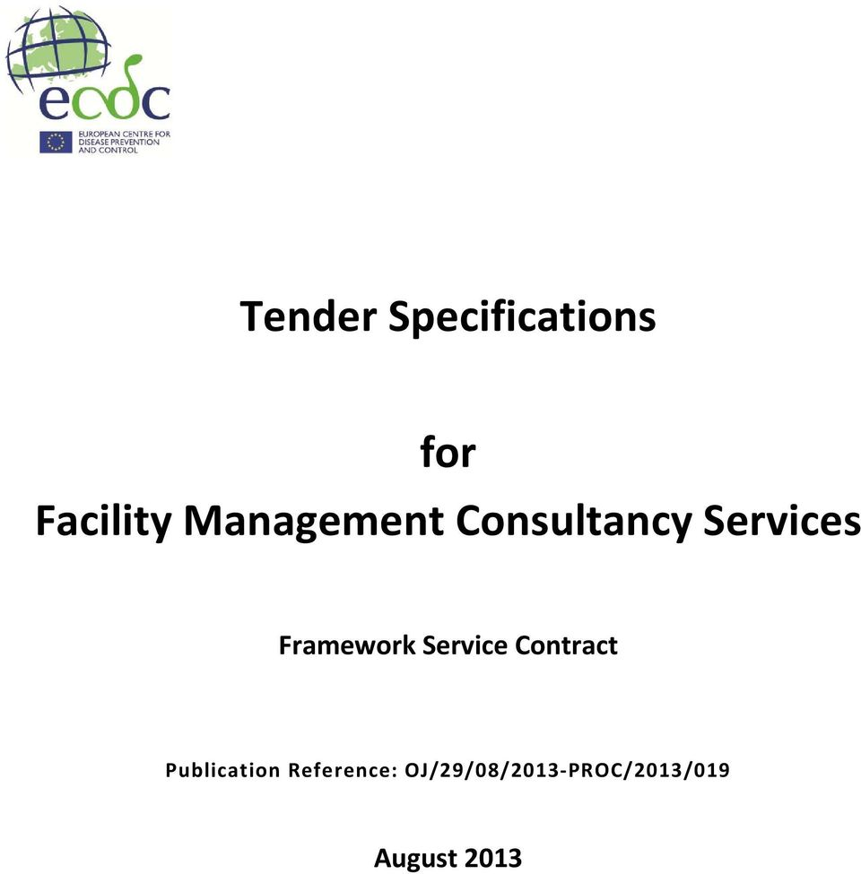 Framework Service Contract Publication