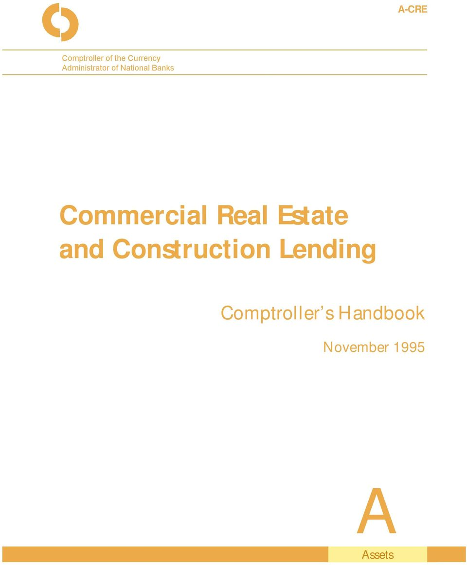 Commercial Real Estate and Construction