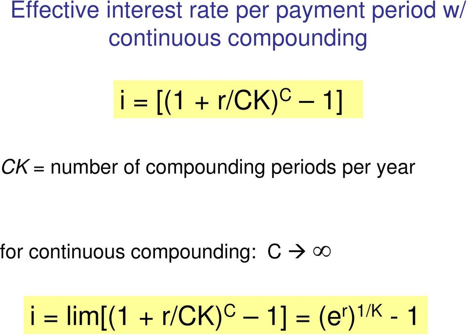 number of compounding periods per year for