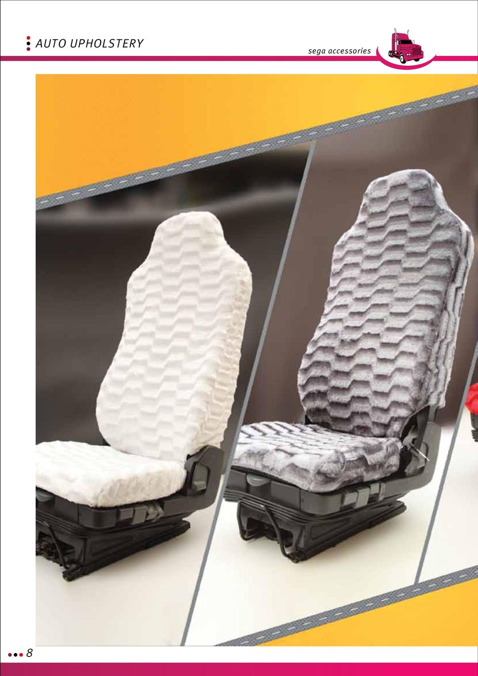 Auto Upholstery Sega Accessories Seat Covers Normal Sheath