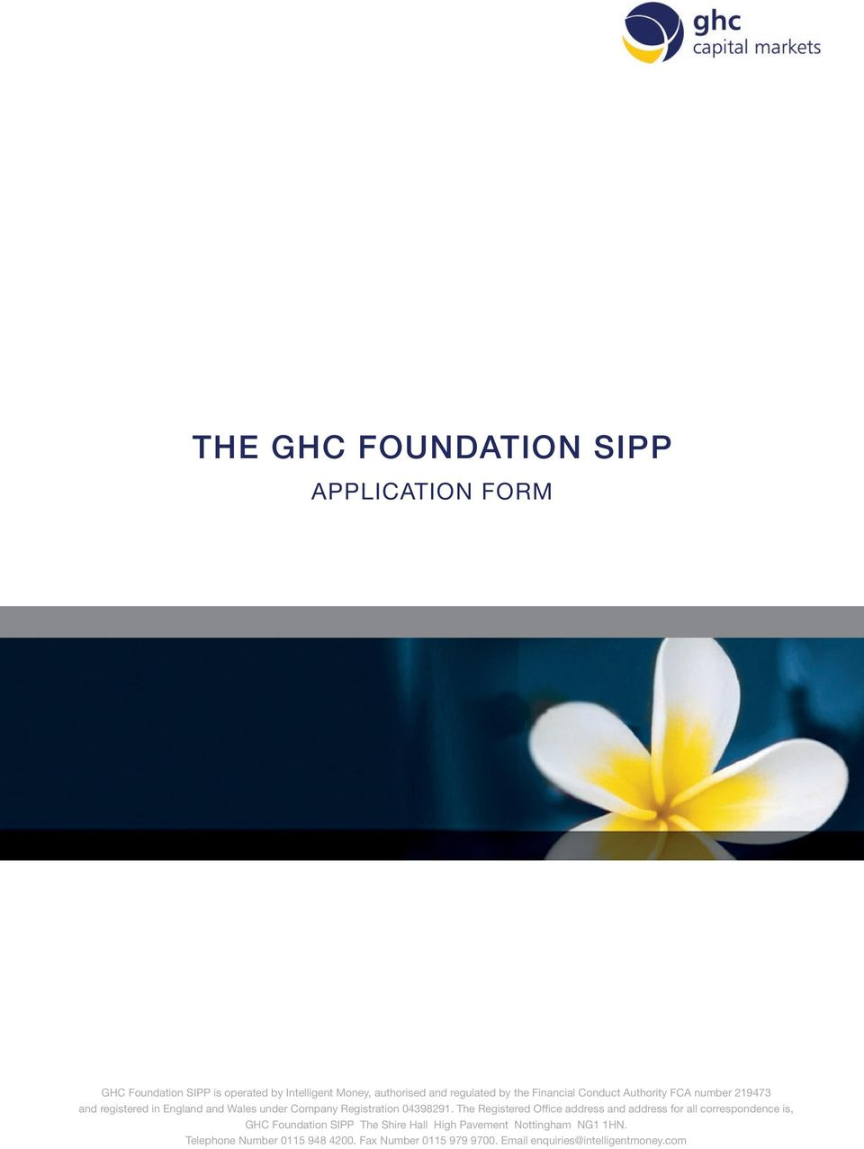 THE GHC FOUNDATION SIPP - PDF