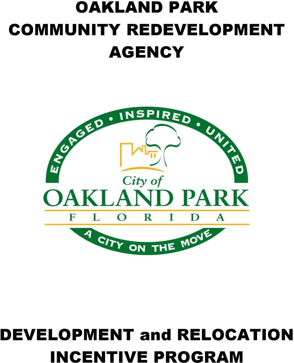 REDEVELOPMENT AGENCY
