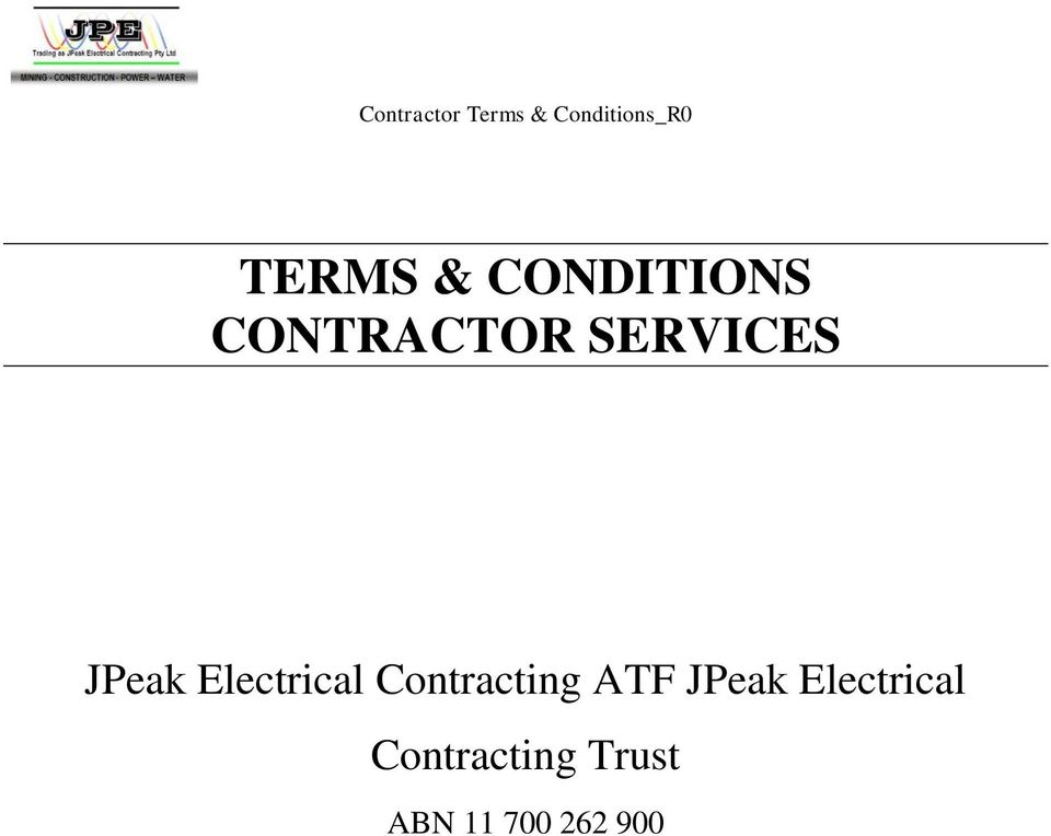 Contracting ATF JPeak