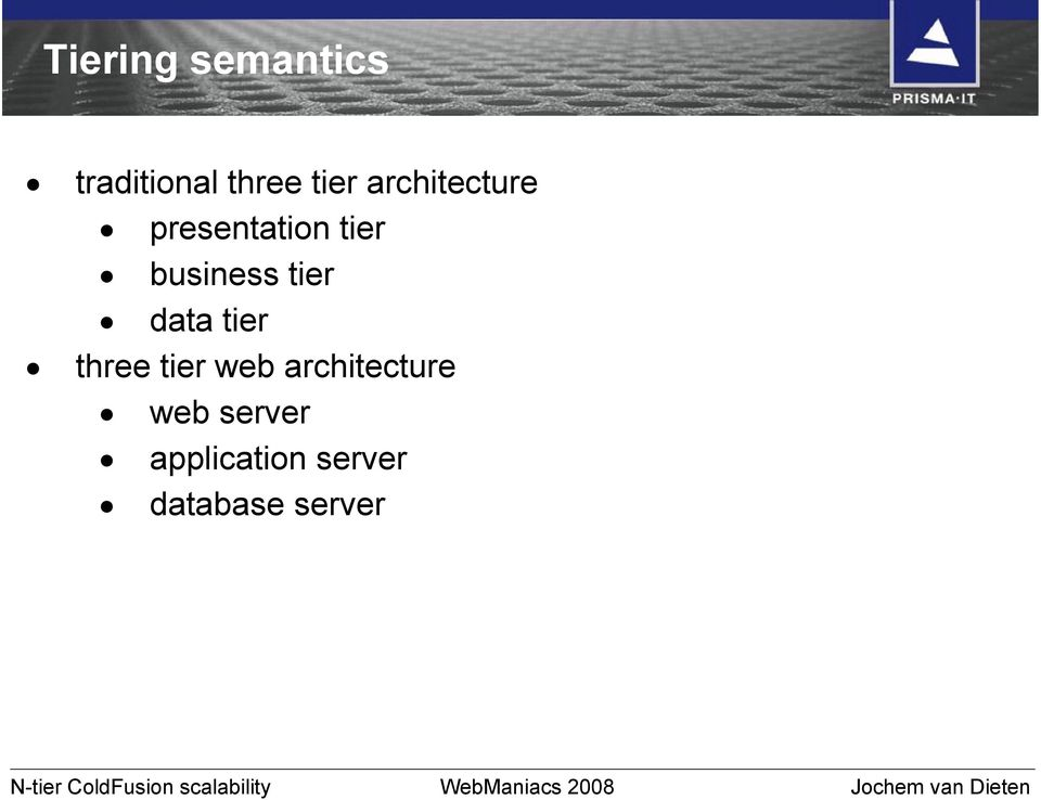 data tier three tier web architecture web