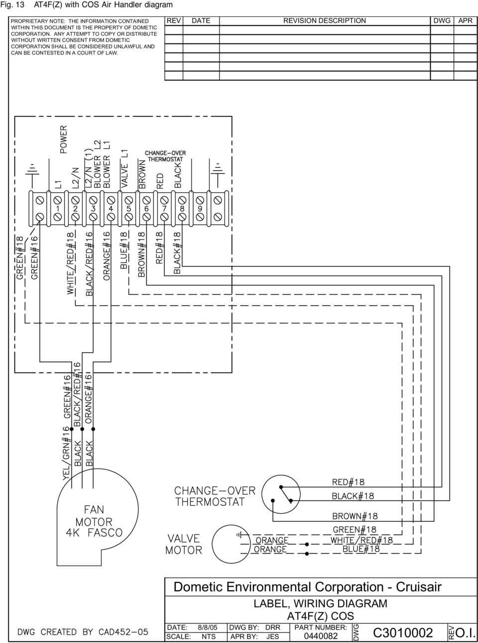 dometic single zone lcd thermostat wiring diagram duo